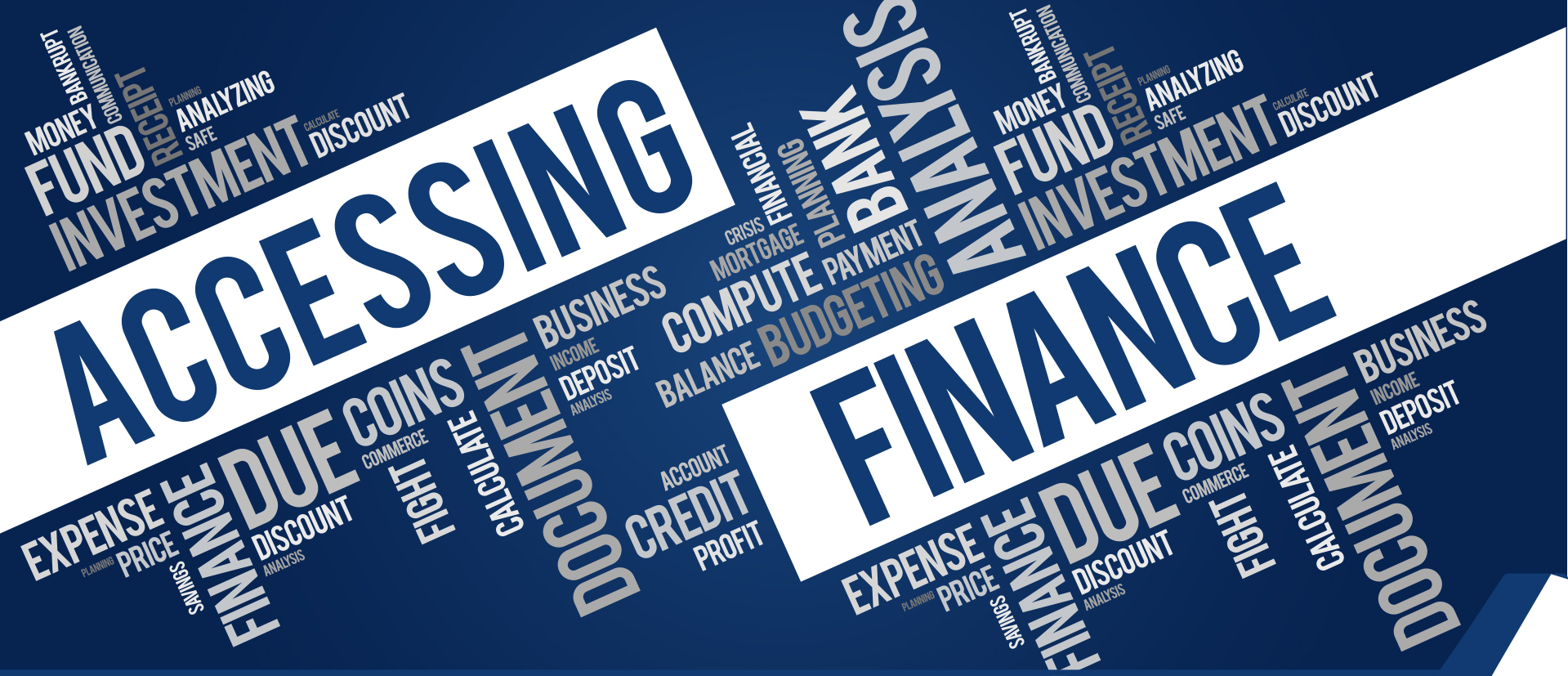 Accessing finance - Is it as difficult as our experience indicates? 1